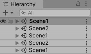 LoadSceneMode.Additive実行
