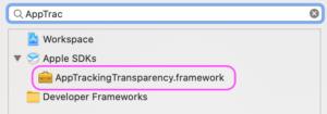 frameworkの検索